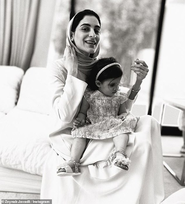 Sheikha Zeynab Javadli (pictured with one of her daughters), the wife of a prominent Sheikh from Dubais royal family, has posted a harrowing video pleading for help crying that she has been persecuted since leaving him nine months ago